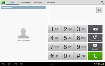 Samsung N8000 Galaxy Note 10-1 - Voicemail - handmatig instellen - Stap 4