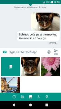 Sony Xperia XA1 Plus - Mms - Sending a picture message - Step 19