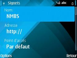 Nokia E71 - Internet - navigation sur Internet - Étape 12