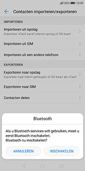 Huawei Mate 10 Lite (Model RNE-L21) - Contacten en data - Contacten overzetten via Bluetooth - Stap 9