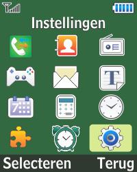 Samsung E1270 - Buitenland - Bellen, sms en internet - Stap 3