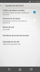 Sony Xperia Z3 - Red - Seleccionar el tipo de red - Paso 8
