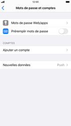 Apple iPhone 8 - iOS 13 - E-mail - Configuration manuelle - Étape 4