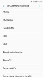 Samsung Galaxy S7 - Android Nougat - Mensajería - Configurar el equipo para mensajes multimedia - Paso 10