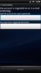 Sony Ericsson Xperia Arc S - E-mail - Handmatig instellen - Stap 13