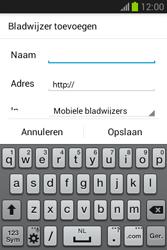 Samsung Galaxy Fame Lite (S6790) - Internet - Hoe te internetten - Stap 15