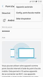 Samsung Galaxy A5 (2017) (A520) - Internet et connexion - Partager votre connexion en Wi-Fi - Étape 8