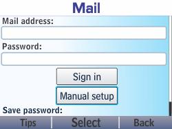 Nokia Asha 210 - Email - Manual configuration - Step 7