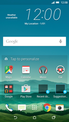 HTC One M9 - Internet - Example mobile sites - Step 1