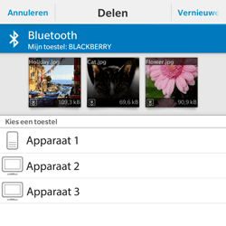 BlackBerry Classic - Contacten en data - Foto