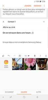Samsung Galaxy Note 9 - E-mails - Envoyer un e-mail - Étape 13