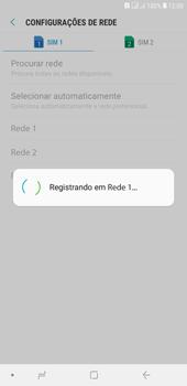 Samsung J4+ - Rede móvel - Como selecionar o tipo de rede adequada - Etapa 11