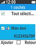 Bouygues Telecom Bc 211 - Contact, Appels, SMS/MMS - Envoyer un SMS - Étape 10