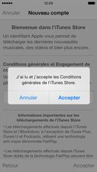 Apple iPhone 5s - Applications - Créer un compte - Étape 11