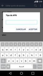 LG K10 4G - Mensajería - Configurar el equipo para mensajes multimedia - Paso 14