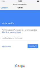 Apple iPhone 6s iOS 9 - E-mail - Configurar Gmail - Paso 6
