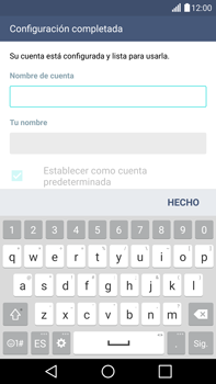 LG G4 - E-mail - Configurar Yahoo! - Paso 8