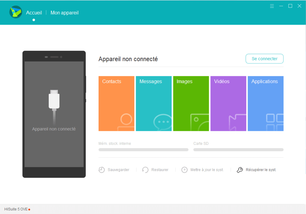 Huawei P20 lite - Aller plus loin - Gérer vos données avec un ordinateur - Étape 4