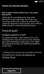 Nokia Lumia 625 - Email - Adicionar conta de email -  7