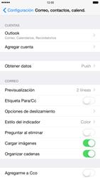 Apple iPhone 6 Plus iOS 8 - E-mail - Configurar Outlook.com - Paso 9