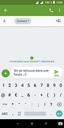 Alcatel 1 - Contact, Appels, SMS/MMS - Envoyer un SMS - Étape 10