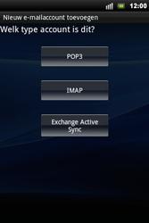 Sony Xperia Mini Pro - E-mail - Handmatig instellen - Stap 6