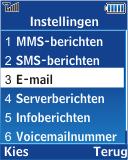 Samsung E2370 Megacell - E-mail - Handmatig instellen - Stap 6