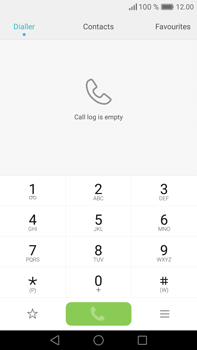 Huawei Mate 8 - Voicemail - Manual configuration - Step 3