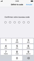 Apple iPhone SE - iOS 11 - Sécuriser votre mobile - Activer le code de verrouillage - Étape 7