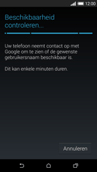 HTC Desire 610 - Applicaties - Account aanmaken - Stap 9