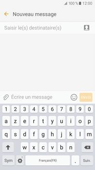 Samsung Samsung Galaxy J7 (2016) - Contact, Appels, SMS/MMS - Envoyer un SMS - Étape 5