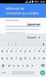 Alcatel U3 - Applications - Créer un compte - Étape 11