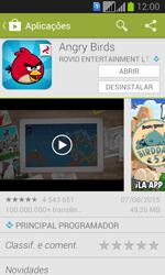 Samsung Galaxy Fresh Duos - Aplicações - Como pesquisar e instalar aplicações -  19