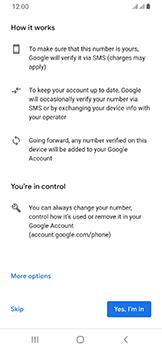 Samsung Galaxy A40 - Applications - Create an account - Step 14