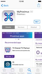 Apple iPhone 5 iOS 10 - Applications - MyProximus - Step 8