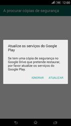 Sony Xperia E4 - Aplicações - Como configurar o WhatsApp -  9
