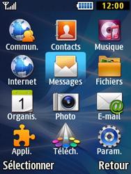 Samsung Solid 271 - Contact, Appels, SMS/MMS - Envoyer un MMS - Étape 3