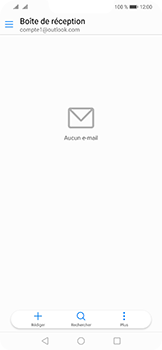 Huawei Mate 20 Lite - E-mail - 032c. Email wizard - Outlook - Étape 3