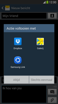 Samsung N9005 Galaxy Note III LTE - MMS - afbeeldingen verzenden - Stap 14