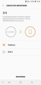 Samsung galaxy-j6-sm-j600fn-ds - Contacten en data - Contacten kopiëren van SIM naar toestel - Stap 12