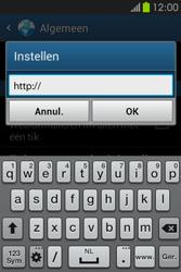 Samsung S6810P Galaxy Fame - Internet - handmatig instellen - Stap 25