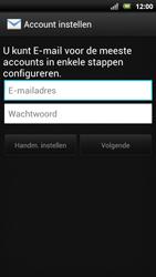 Sony Ericsson Xperia Neo met OS 4 ICS - E-mail - Handmatig instellen - Stap 7