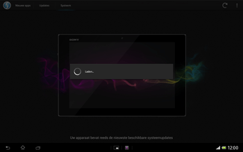 Sony SGP321 Xperia Tablet Z LTE - Software updaten - Update installeren - Stap 8