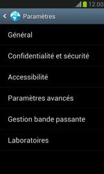 Samsung I8190 Galaxy S III Mini - Internet - Configuration manuelle - Étape 19
