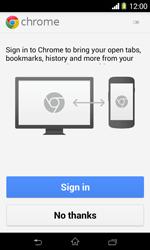 Sony D2005 Xperia E1 - Internet - Internet browsing - Step 4