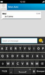 BlackBerry Z10 - Contact, Appels, SMS/MMS - Envoyer un SMS - Étape 9