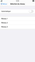 Apple iPhone 8 - iOS 13 - Réseau - Utilisation à l