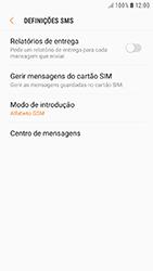 Samsung Galaxy A5 (2016) - Android Nougat - SMS - Como configurar o centro de mensagens -  8