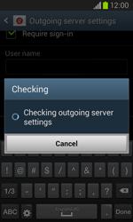 Samsung I8260 Galaxy Core - E-mail - Manual configuration - Step 16