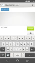Sony Xperia Z2 - Contact, Appels, SMS/MMS - Envoyer un SMS - Étape 8